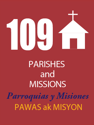 109 Parishes and Missions