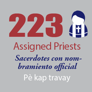223 Assigned Priests