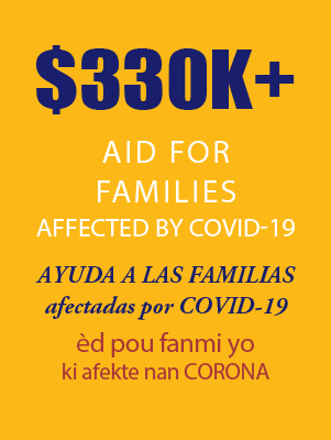 330k Plus in Aid for Families Affected by Covid19