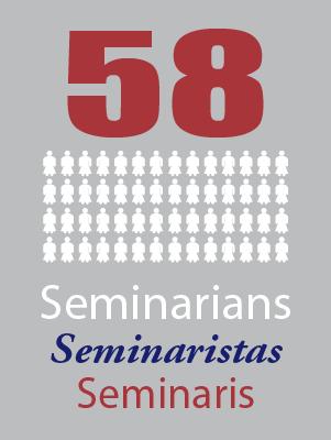58 Seminarians